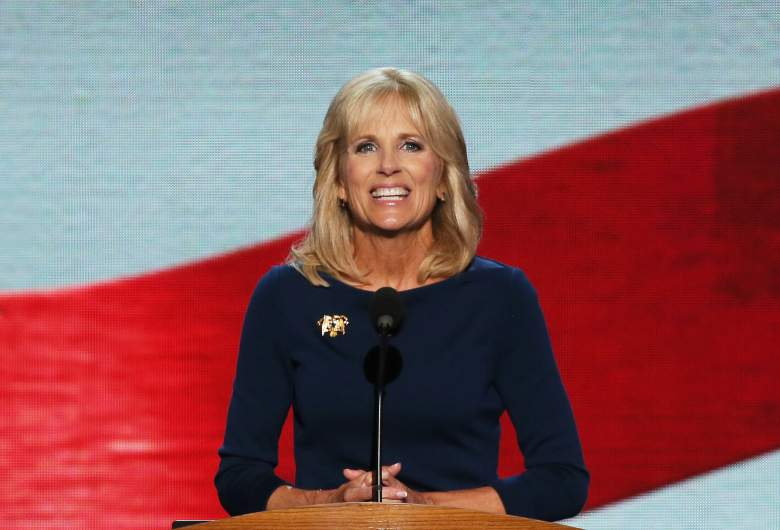 Jill Biden was blocked by illegal demonstrating Chancellor College Students