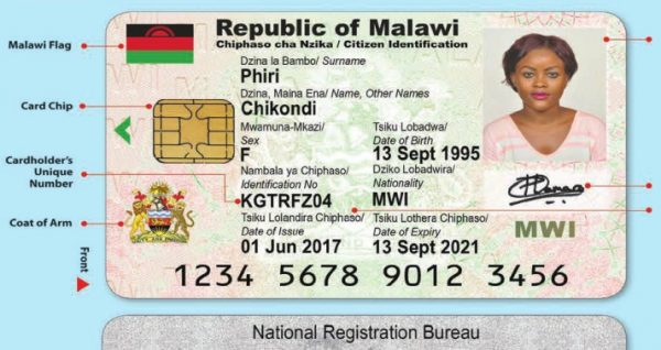 Malawi npt to vote using national IDs