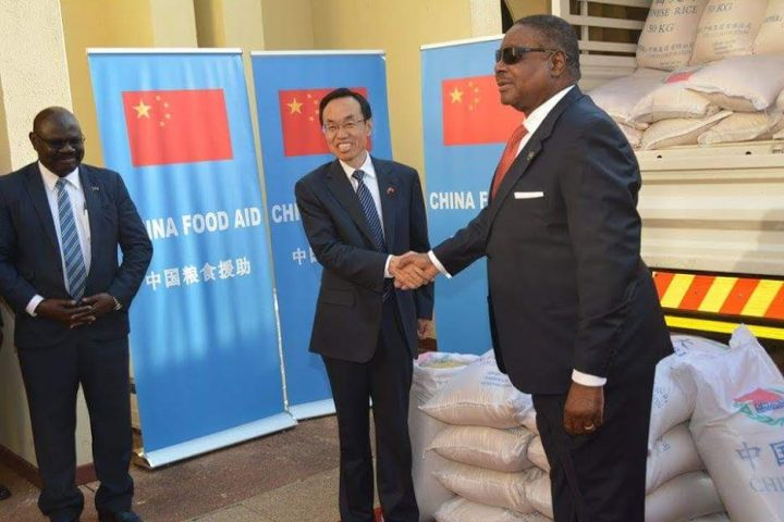 6000 metric tonnes of rice from China