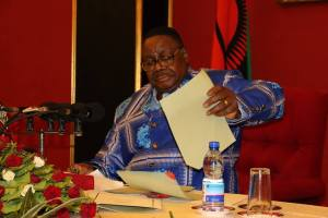 Mutharika says very fit