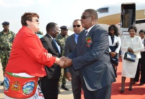 Mutharika returns home Sunday