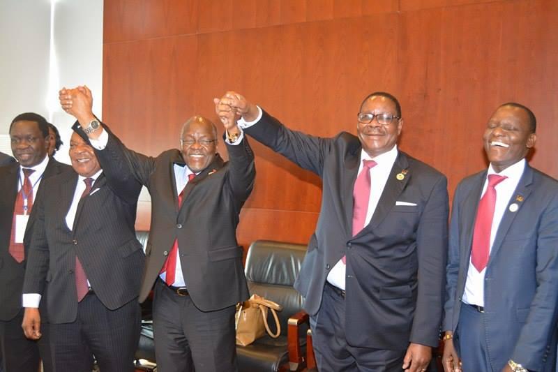Mutharika and Magufuli