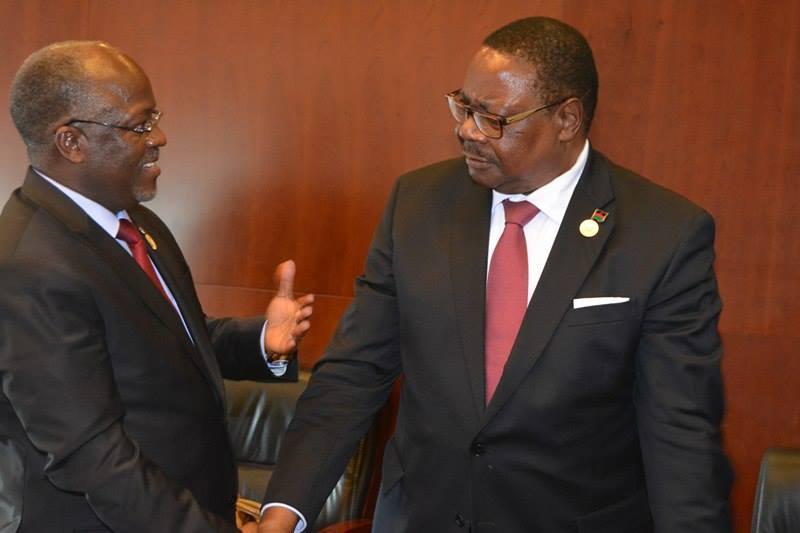 Neighbors,Malawi President and Tanzania President